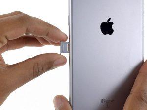 iPhone 6s Plus – Thay thế khay SIM