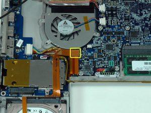 """MacBook Pro 17 """"Mô hình A1151 A1212 A1229 và A1261- Thay thế ExpressCard Cage"""