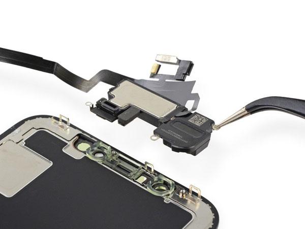 iPhone X – Thay thế Loa tai nghe và Bộ cảm biến phía trước