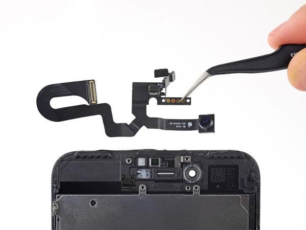 iPhone 7 Plus - Thay thế camera phía trước và cáp cảm biến