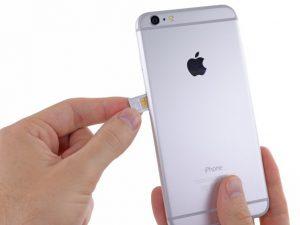iPhone 6 Plus – Thay thế thẻ SIM