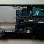 HP Pavillon Notebook 17-ab303ng - Hướng dẫn tháo lắp