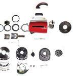 Ấm đun nước thông minh Breville BKE825 - Hướng dẫn tháo lắp