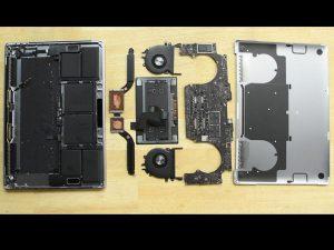Thanh cảm ứng MacBook Pro 15″ – Hướng dẫn tháo lắp
