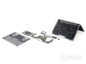 Thanh cảm ứng MacBook Pro 13″ – Hướng dẫn tháo lắp