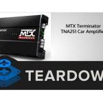 Bộ khuếch đại xe MTX Terminator TNA251 - Hướng dẫn tháo lắp