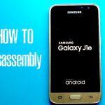 Samsung Galaxy J1 2016 - Hướng dẫn tháo lắp