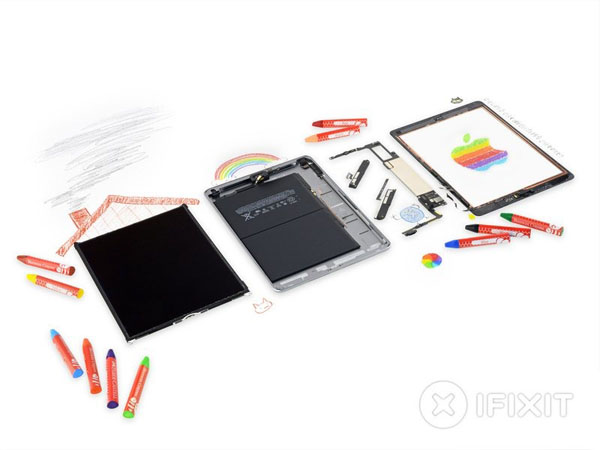 iPad 6 - Hướng dẫn tháo lắp