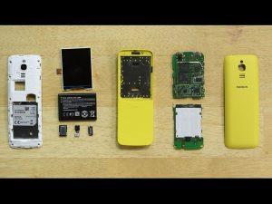 Nokia 8110 4G – Hướng dẫn tháo lắp