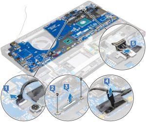 Dell Latitude 5591 – Hướng dẫn tháo lắp