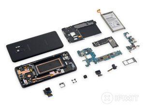 Samsung Galaxy S9 – Hướng dẫn tháo lắp