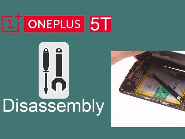 OnePlus 5T - Hướng dẫn tháo lắp