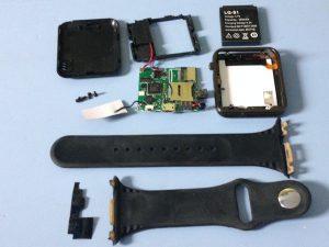 Đồng hồ thông minh Android W8 – Hướng dẫn tháo lắp