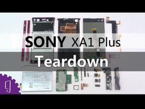 Sony Xperia XA1 Plus – Hướng dẫn tháo lắp