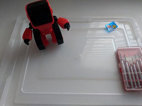 Robot mã hóa cơ sở WowWee Elmoji – Hướng dẫn tháo lắp