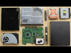 Xbox One X – Hướng dẫn tháo lắp