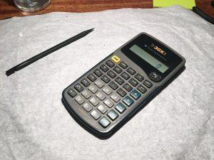 Máy tính Texas TI-30Xa – Hướng dẫn tháo lắp
