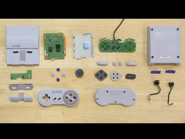 Phiên bản Super Nintendo Classic – Hướng dẫn tháo lắp