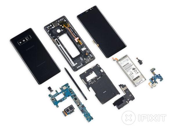 Samsung Galaxy Note8 – Hướng dẫn tháo lắp