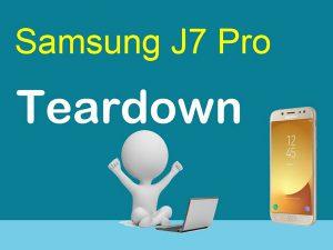 Samsung J7 Pro – Video hướng dẫn tháo lắp