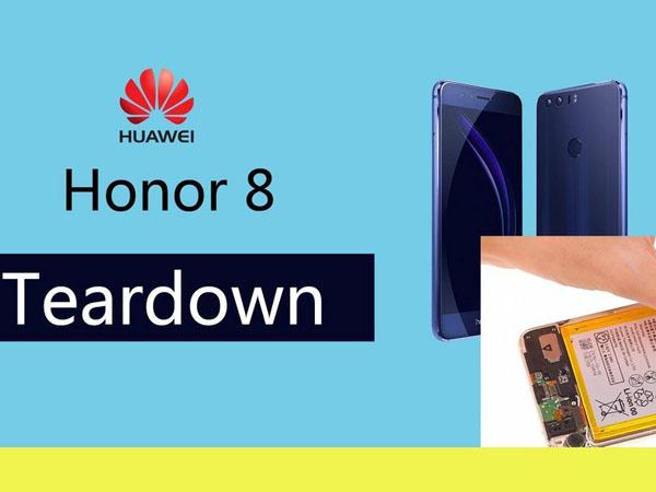 Huawei Honor 8 - Hướng dẫn tháo lắp
