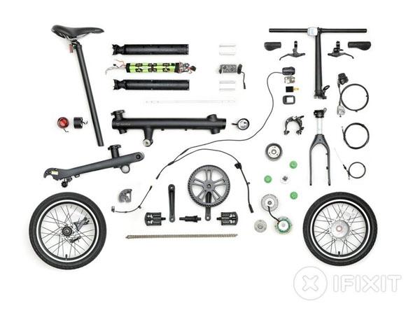 Xe đạp điện gấp Xiaomi MiJia QiCycle - Hướng dẫn tháo lắp