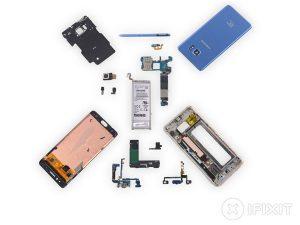 Samsung Galaxy Note Fan Edition – Hướng dẫn tháo lắp