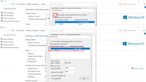Bật bộ nhớ ảo cho Windows