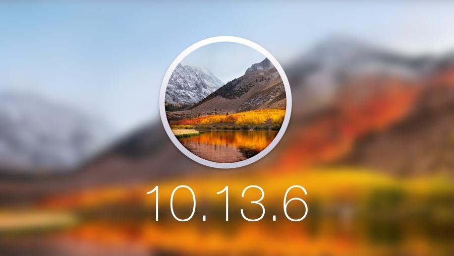 HIGH SIERRA – macOS 10.13