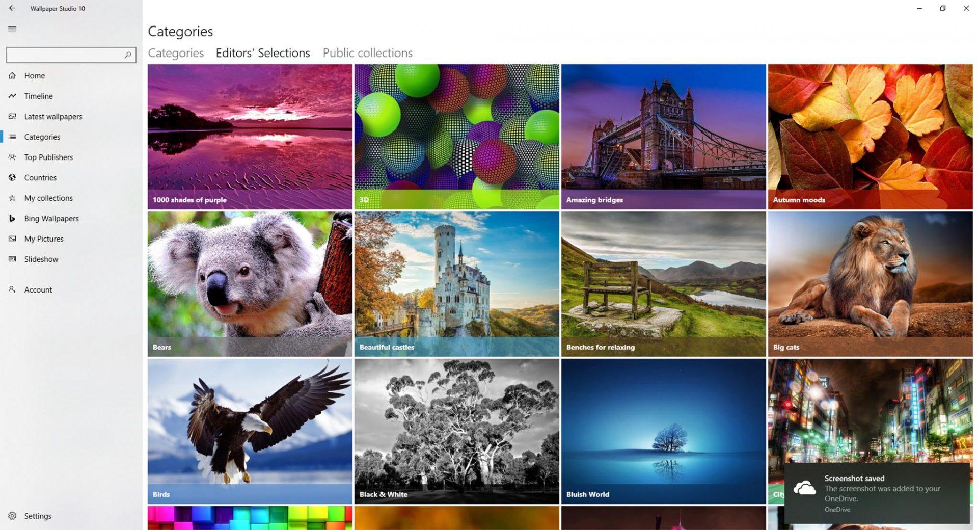 Wallpaper Studio 10 - ứng dụng hình nền rất hay trên Windows và Android