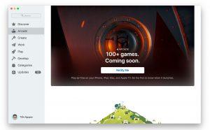 Apple Arcade có thể được phát hành trên macOS vào ngày 4 tháng 10