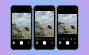 Cách chuyển tỉ lệ ảnh trong ứng dụng Camera mới của iPhone 11