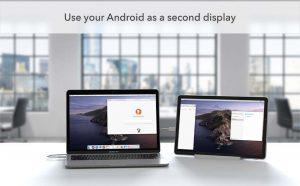 Ứng dụng Duet Display có phiên bản cho Android: mở rộng không gian hiển thị cho Windows và macOS