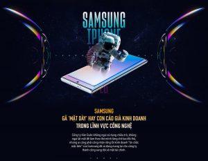 """Samsung: Gã """" mặt dày"""" hay con cáo già kinh doanh trong lĩnh vực công nghệ"""