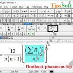 MathType Full Crack – Key Mathtype 7.4 – Acitve thành công 100%