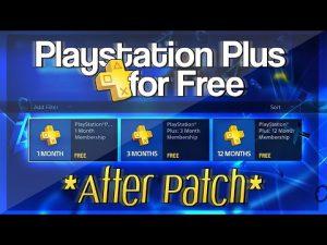 Get Playstation Plus
