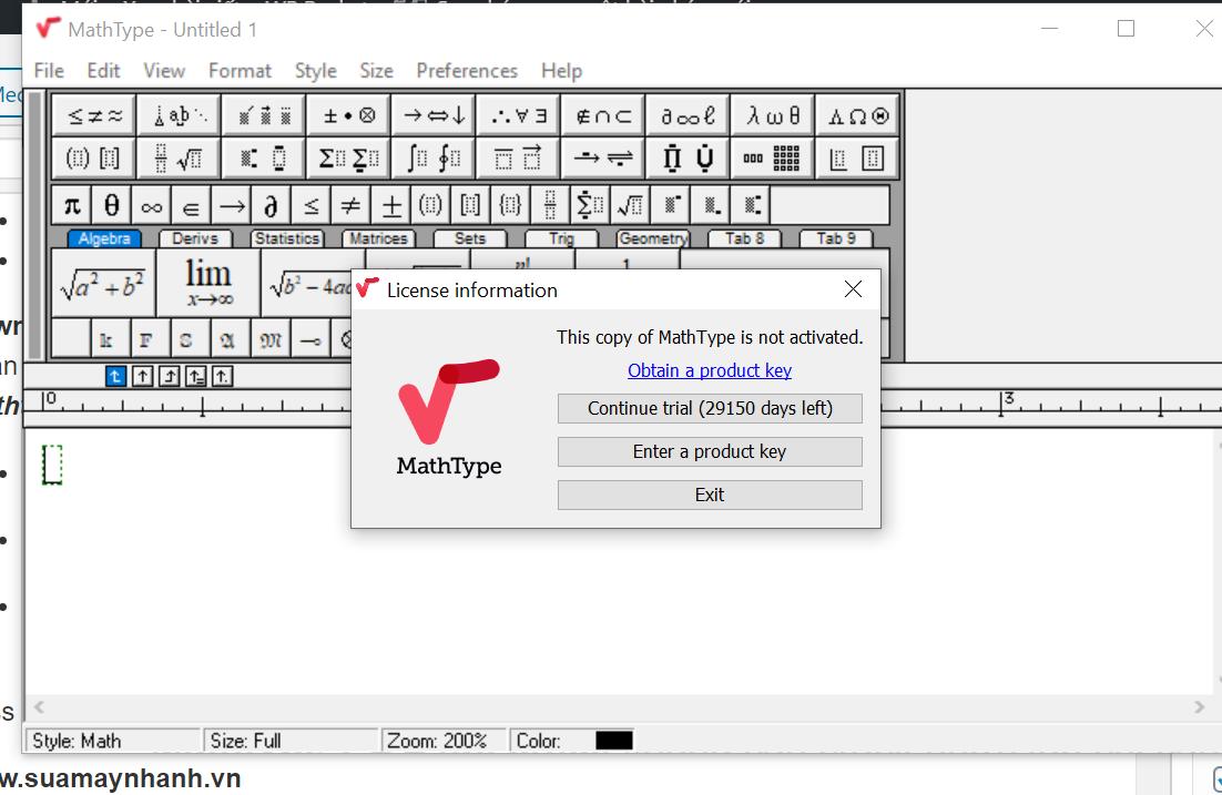 MathType Full Crack – Acitve thành công 100% | Sửa Máy Nhanh