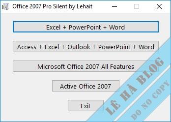 Microsoft Office 2003,2007 Repack