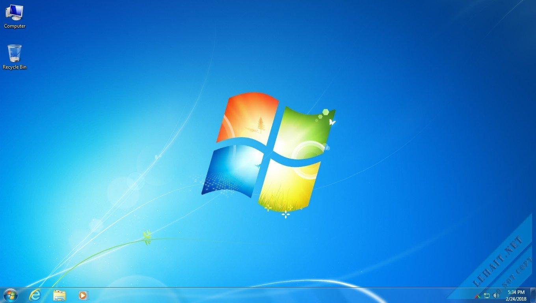 Ghost Windows 7 Ultimate [32 – 64 Bit] – Full Soft Không Cá Nhân Hóa, Version Final By Lehait