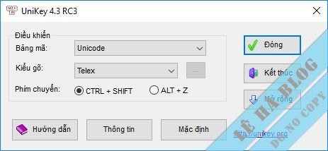 UniKey 4.3 RC4 – Bộ Gõ Tiếng Việt Mới Nhất