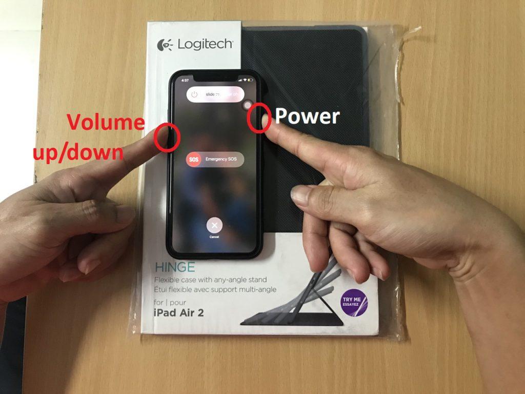 Cách tắt nguồn iPhone Xs Max