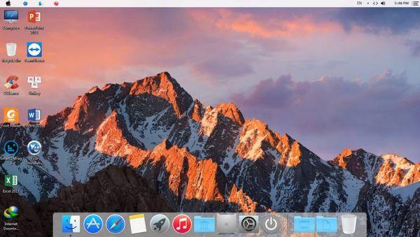 Ghost Windows 7 [ Mac OS X ] – Full Soft, No Driver – Version Special 2017 By Lehait [Legacy – UEFI]