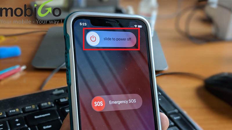 Cách tắt nguồn iPhone Xs Max đơn giản thao tác cực nhanh
