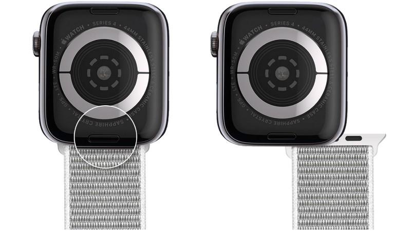 Cách tháo dây Apple Watch