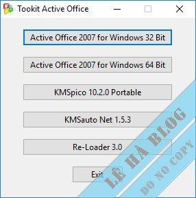 Active Windows Office – Bẻ Khóa Windows Và Office