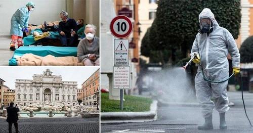 Số ca mắc Covid-19 tại Italy tăng đột biến, Tây Ban Nha ban bố tình trạng khẩn cấp quốc gia