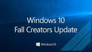 Windows 10 Fall Creator 1709 Chính Thức Mới Nhất Từ Microsoft