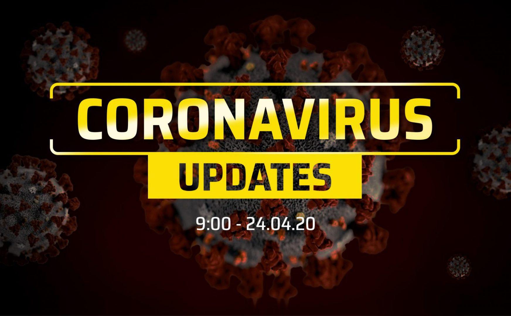 Tình hình đại dịch COVID-19 cập nhật đến sáng 24/04