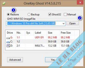 Hướng Dẫn Cài Windows Từ ISO Nhanh Và Chuẩn Legacy-UEFI