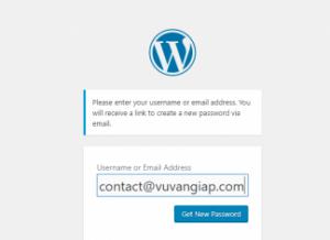 Cách khôi phục mật khẩu WordPress một cách đơn giản